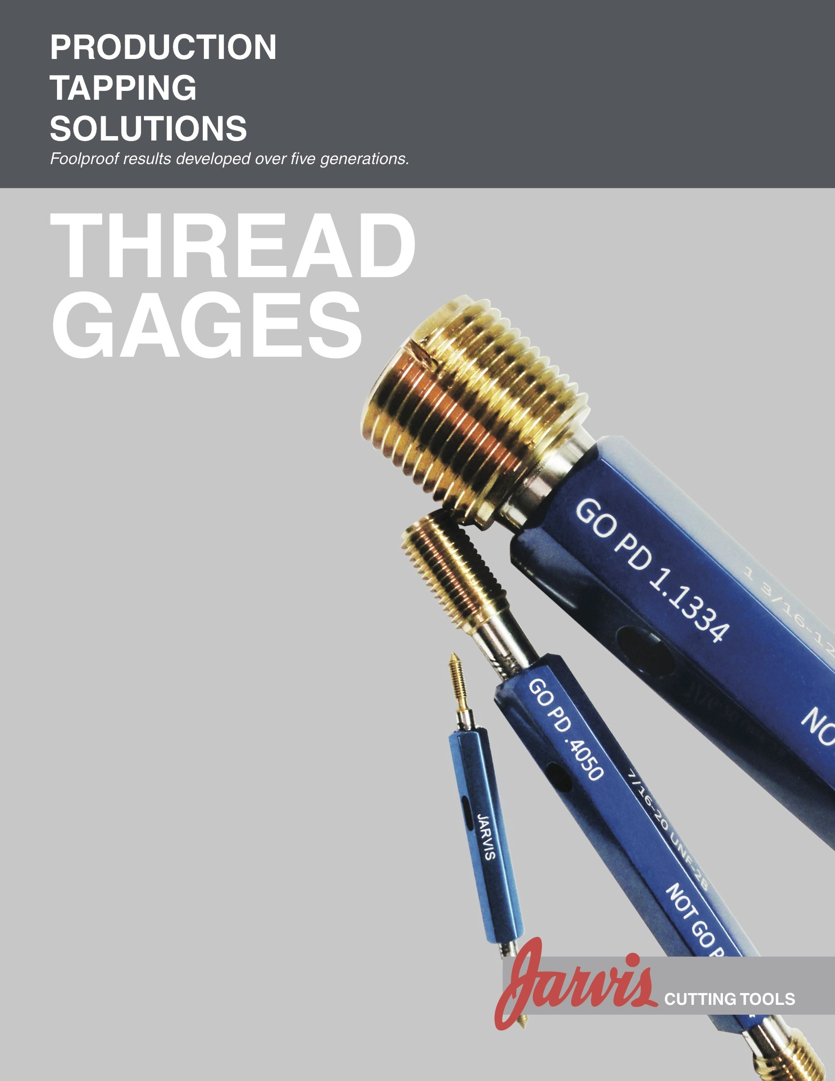 Thread Gages Ordering Guide
