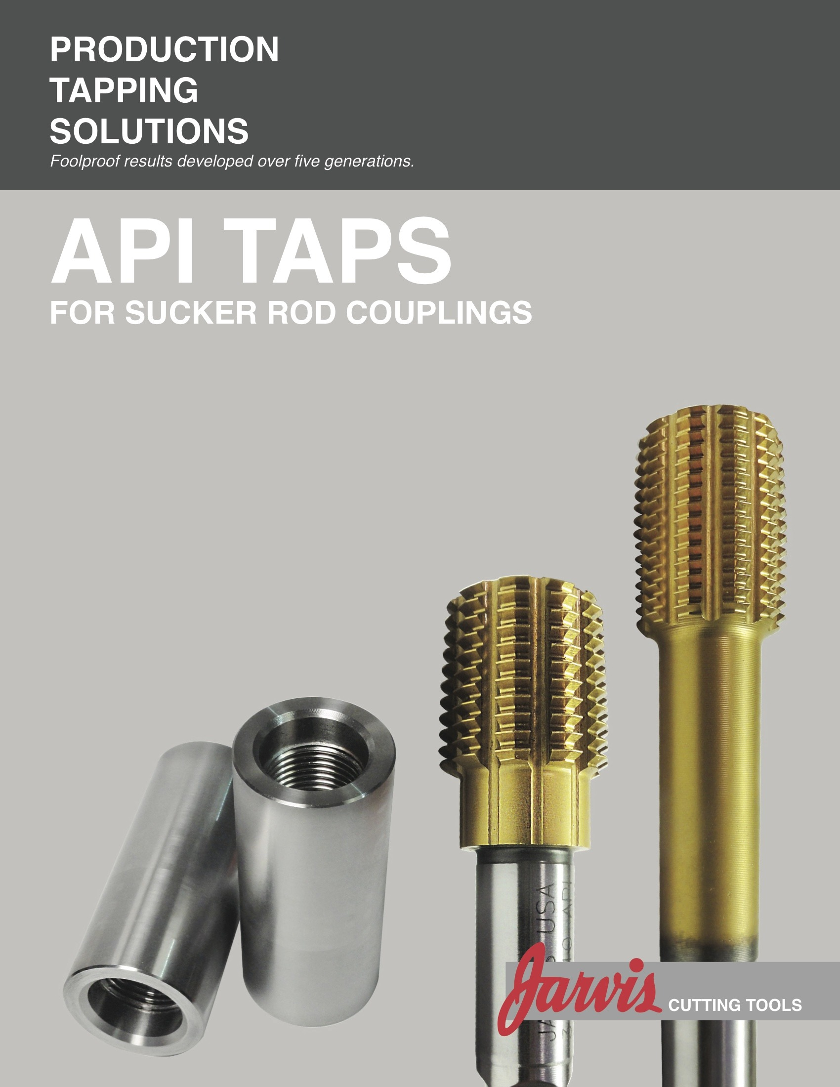 Jarvis CuttingTools API Cover