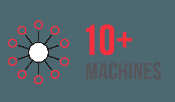 10+ Machines