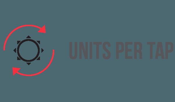 Units Per Tap