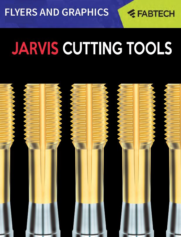 fabtech brochure cover jarvis cutting tools