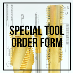 SPECIAL TOOL ORDER FORM